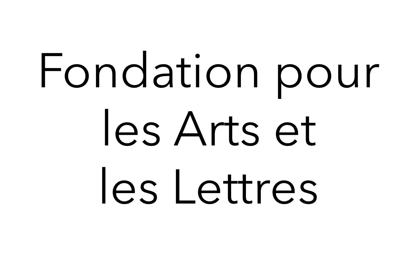 Fondation pour les Arts et les Lettres