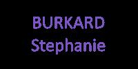 BURHARD Stéphanie