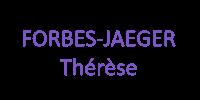 FORBES-JAEGER Thérèse