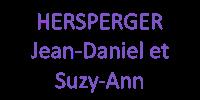 HERSPERGER Jean-Daniel et Suzy-Ann