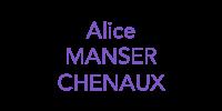 Alice Manser Chenaux
